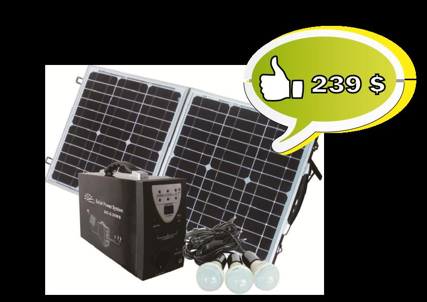 Купить Мини-система солнечная для выработки электроэнергии