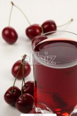 Соки вишневые