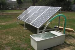 Водяной насос на солнечной энергии