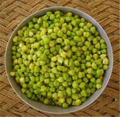 Нут - это мелкие бобы коричнево-зеленого цвета