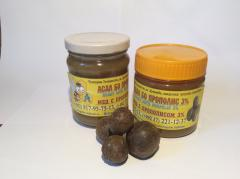 Honey with propolis