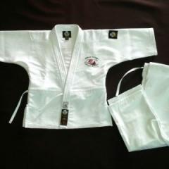 Кимоно Айкидо белое, хлопок, куртка, брюки, пояс