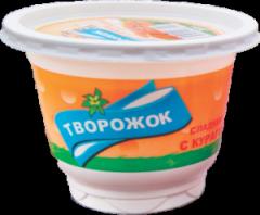 Творожок сладкий с курогой 10% жира-200гр