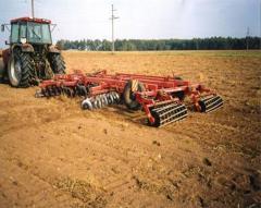 Оборудование для уборки урожая зерновых культур