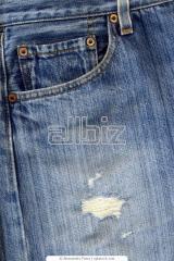 Ткань джинсовая хлопок