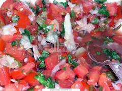 Салаты овощные консервированные