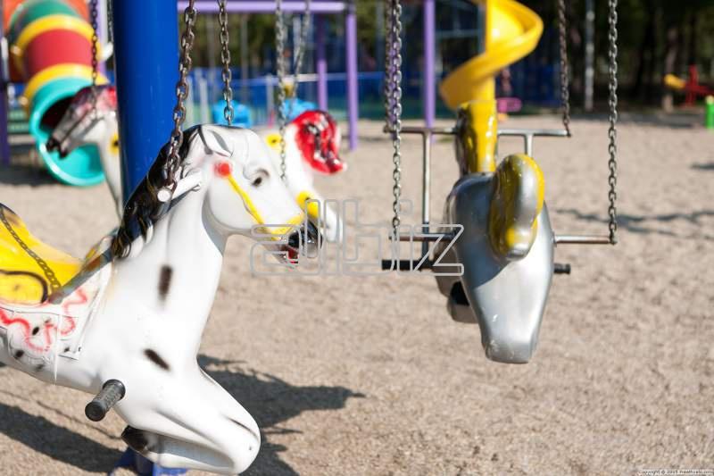 Заказать Строительство детских площадок