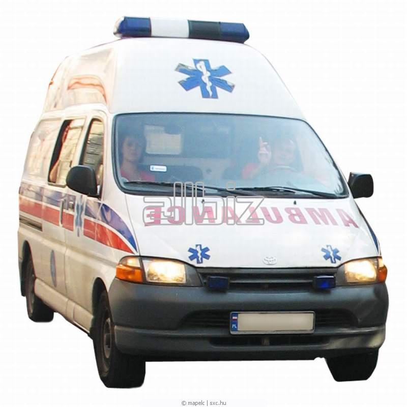 Заказать Транспортные медицинские услуги