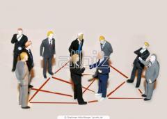 Услуги консультантов по внешней торговле