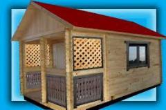 Строительство домиков переносных