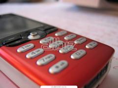 Передачи сообщений с мобильных телефонов через интернет