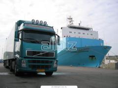 Международная перевозка сборных грузов